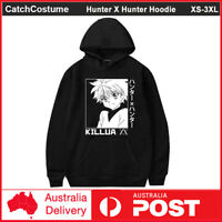 Hunter X Hunter Hoodie Killua Zoldyck Anime HxH Sweatshirt Pullover Hooded Coat