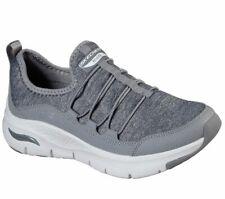 Skechers Arco Para Mujer Zapatillas Isis View Sujeción Confort Deportivo Zapatos