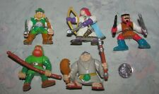 Vintage Fisher Price Great Adventures Robin Hoods Forest lot of 5 Figures