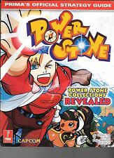 Power Stone Prima Official Strategy Guide Capcom Sega Dreamcast PB 1999