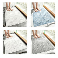 Non-slip Bath Shower Bathtub Mat Rubber Bathroom Floor Rug Massage Suction