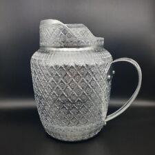 Pitcher Jug Jar Mug Aluminum Liquid Water Vintage Thai Silver Drinking