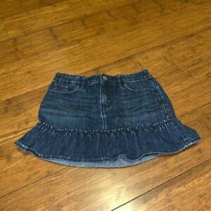 Girls Size 12 Regular Gap Kids Jean Skirt Mini Skirt Excellent Condition
