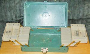 Vintage Peter Henning Plano Molding Tackle Box Fishing