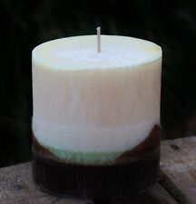 70hr B52 SHOTS Party Scented Baileys Kahlua Oval NATURAL CANDLE + FREE SHIPPING