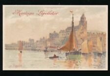 French Unposted Printed Collectable Artist Signed Postcards