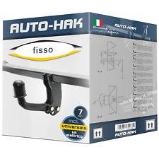 7p kit el. Audi A1 3//5-porte 2010-2015 Gancio di traino fisso