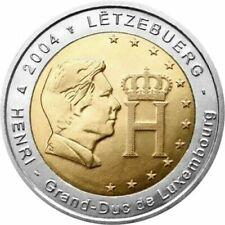Pièces euro du Luxembourg pour 2 Euro année 2004