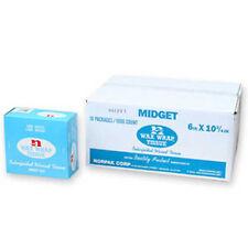 "Norpak Light Weight Midget Wax Wrap Tissue 6"" x 10.75"" Box of 500 Sheets"