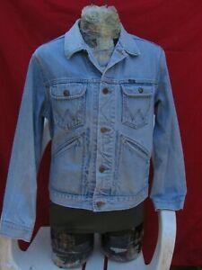 Vintage Wrangler Blue Jean Jacket Large