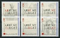 Guernsey 2018 MNH WWI WW1 Stories Great War Part 5 6v Set Military Stamps