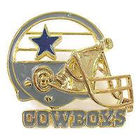 NFL Football Dallas Cowboys Fashionable Gold Charm Pin