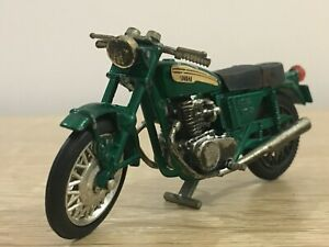 Vintage Scale Model Diecast Yamaha OHC 750 Motorcycle Hong Kong