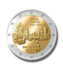 2020 Malte 2 Euro Commemorative - 'Temple De Skorba'