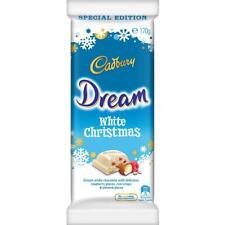 Cadbury Dream White Christmas Chocolate Bar (170g) Australia Import