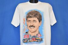 vtg 90s DAVEY ALLISON #28 IN MEMORY OF TEXACO HAVOLINE t-shirt RACING NASCAR XL
