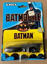 Batman BATMOBILE diecast car 1/64 scale Ertl 1989 MOC