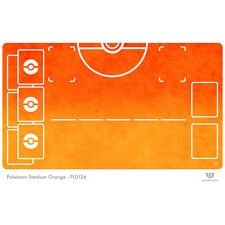 Pokemon Stadium Orange - Pokemon Play Mat (PL0126)