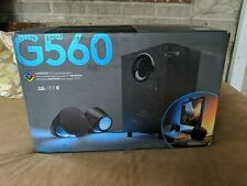 Logitech - G560 LIGHTSYNC 2.1 Bluetooth Gaming Speakers with Game Driven RGB