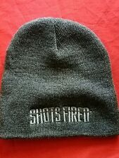 Shots Fired Knit Beanie Fox TV Movie Unisex Adult Hat Soft Cap Promotional Gray