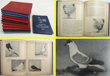12 Jahrbücher für Geflügelzüchter Hühner Tauben Kanarienvögel Exoten 1955-1978