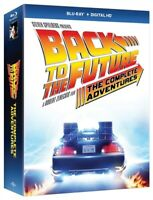 Back to the Future: The Complete Adventures (Blu-ray Disc, 2016, 8-Disc Set)