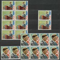 DEALER STOCK SAN MARINO MNH Nuovi 1964 J F Kennedy 2v 10 SETS s32635