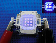 10w alta potencia LED luz UV Chip 365nm 375nm 385nm 395nm 400nm Ultra Violeta