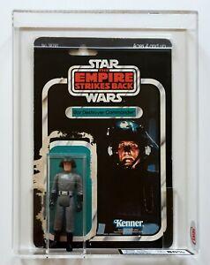 STAR WARS ESB SD Commander with 32 Back-B Card back Kenner 1980 UKG 80%