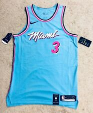 100% AUTHENTIC Nike Dwyane Wade Miami Heat Vice City Edition Authentic Jersey