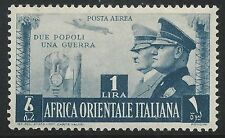 Italy East Africa Scott #C18 Airmal Mint LH Stamp