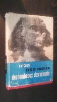 C.W.Ceram Delle Divinità Tombe Studiosi 1956 Plön Stampe + Schede ABE