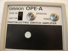 Omron OPE-A Protoelectric Swith Amplifier