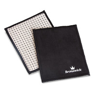 Brunswick Reactivate Leather Bowling Ball Cleaning Pad/Shammy-New-Free Shipping