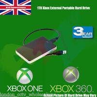 "XBOX 1TB USB 2.5"" 3.0 External Portable Hard Drive For Xbox One & Xbox360"
