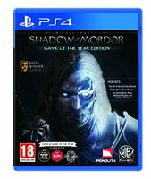 Middle-Earth: Shadow of Mordor GOTY (PS4) - Game  YULN The Cheap Fast Free Post