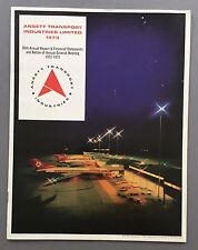 ANSETT TRANSPORT INDUSTRIES ANNUAL REPORT 1973 AIRLINES AUSTRALIA BOEING 727