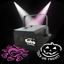 Equinox Black Gobo Projector COB 30W LED Light DMX - Print Your Own Gobo Image!