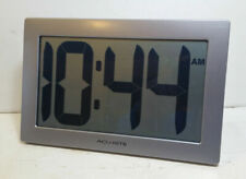 """AcuRite 75102 9.5"""" Large Digital Clock with Intelli-Time Technology"""
