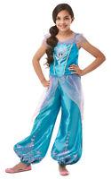 Girls DISNEY Gem Princess JASMINE Fancy Dress Costume Aladdin World Book Day Kid