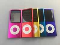 Ipod Nano 4th Generation 8gb 16gb  (w/Click-wheel) Assorted Colors