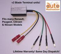 """Plug&Play"" Electric Window Motor/Regulator Control Unit/Module/ECU for Renault"
