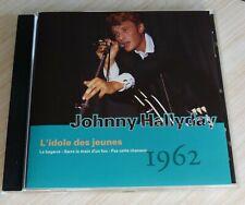 CD ALBUM SERIE GUITARE L'IDOLE DES JEUNES 1962 JOHNNY HALLYDAY 20 TITRES 1993