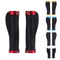 1 Pair Cycling Rubber MTB Road Bike Bicycle Handlebar Grips Cycling Lock-On  #BU