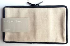 (rare++++) TSUKUSHI Pen Case, Pencil Case, Holder Sleeve Japan Black Japan NEW