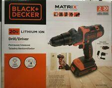Black & Decker - BDCDMT120C - MATRIX 20V MAX Lithium Drill/Driver