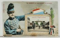 France De NANCY Quartier Donop 5eme Regiment Patriotic 1908 Postcard L1