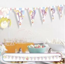 Amscan Little Cooks Birthday Party Happy Birthday Pennant Banner Flags 3m X 16cm