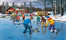 Jigsaw Puzzle Sports Americana Hockey Children Saturday Practice 550 pieces NEW