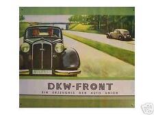 Altes Blechschild Oldtimer DKW Auto Union gebraucht used